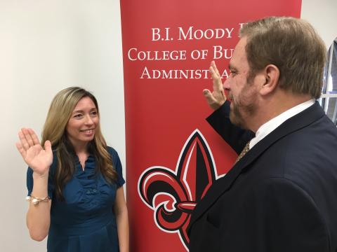 College of Business notary exam preparatory class yields record ...